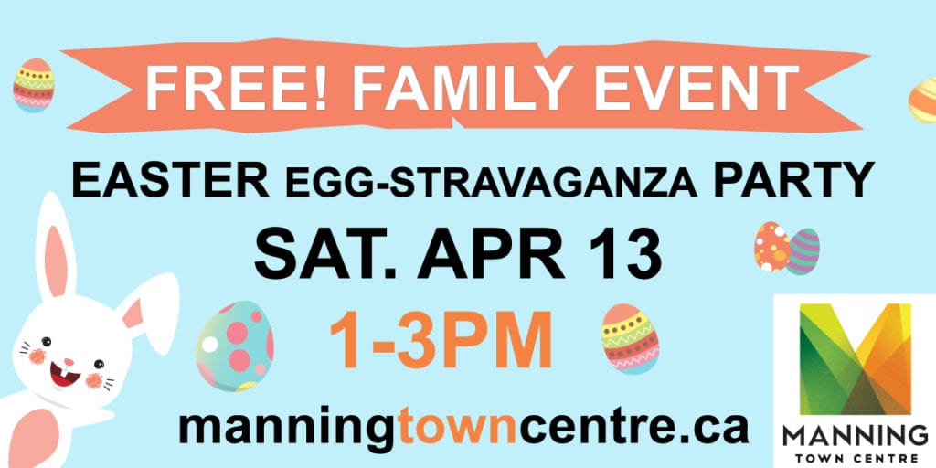 INVITE: Manning Easter Egg-Stravaganza Party