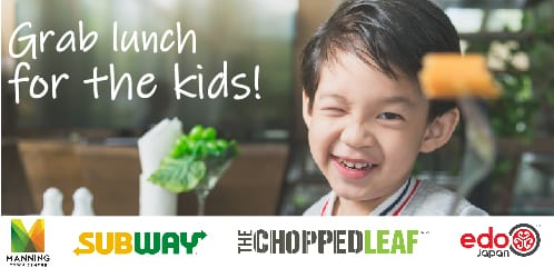 Kid-Friendly Meals at Your Manning Town Centre