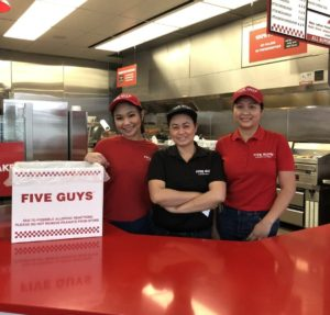Five Guys Manning Town Centre