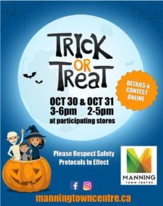 Manning Town Centre Halloween Event