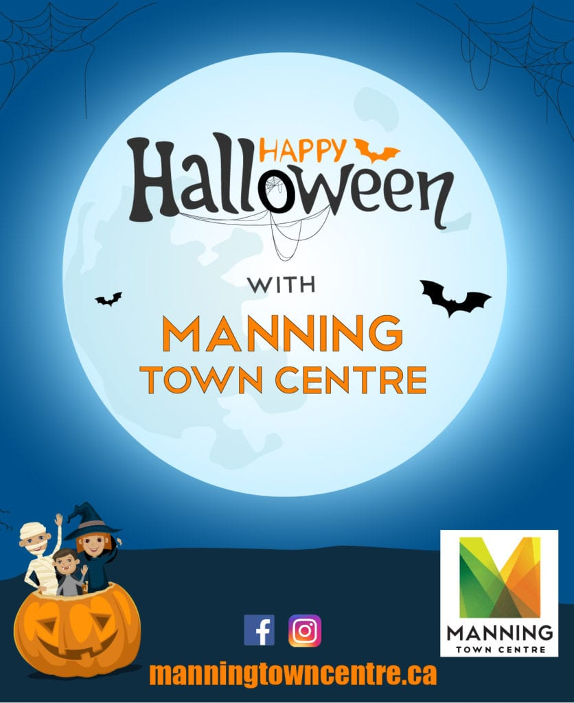 CONTESTS: Happy Halloween with Manning Town Centre